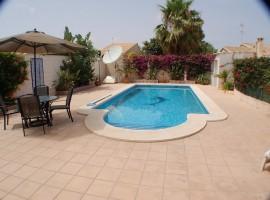 Chalet con piscina Playa Honda Mar Menor Murcia