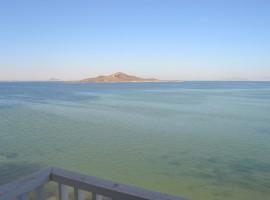 Apartamento en La Manga en Cabo Romano en Primera Línea de Mar Menor