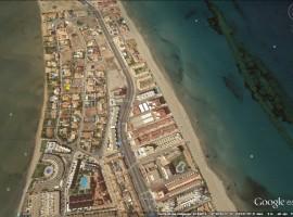 Plot in La Manga del Mar Menor in a very well located area