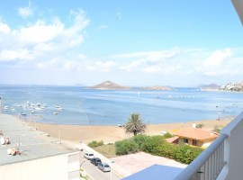 Front line to Mar Menor