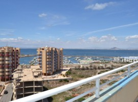 Penthouse in La Manga overlooking the Marina Tomas Maestre and the Mediterranean Sea