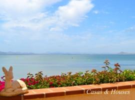 Villa en Cabo Romano en Primera línea de Mar Menor