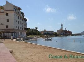 Apartamento en La Manga del Mar Menor en urbanización Poblado Pescador