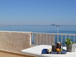Junto a la Plaza Bohemia en La Manga del Mar Menor con vistas al Mediterráneo