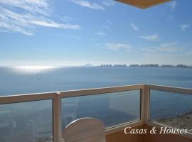Apartamento en La Manga del Mar Menor en Primera línea de Mediterráneo