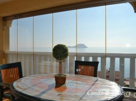 Mediterranean beachfront Apartment in La Manga del Mar Menor