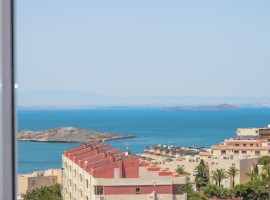 Apartment in La Manga with views to both the Mediterranean and Mar Menor Seas