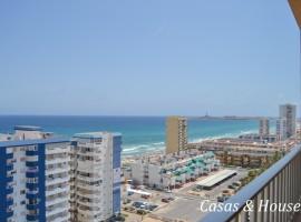 Apartamento en La Manga del Mar Menor con vistas al Mediterráneo