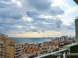 Ático con magnificas calidades y  espectaculares vistas  al Mar Mediterráneo.