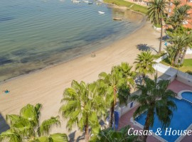 Sea front line apartment in La Manga,  close to both Seas