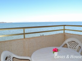 Refurbished Apartment First Line Mar Menor Sea in La Manga