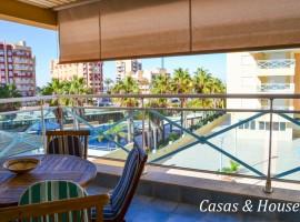 Amplio Apartamento en Abity Beach en La Manga cerca del Puerto Tomas Maestre