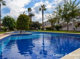 Aldeas de Taray Club residencial con preciosos jardines y piscinas en primera linea de Mar Mediterráneo