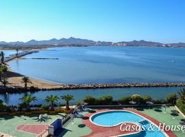Rubi I apartamento en La Manga con vistas a dos mares