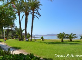 Optimist front line Mar Menor with communal gardens