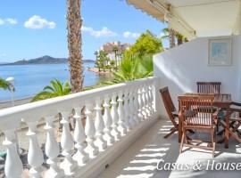 Magnífico dúplex de estilo Ibicenco frente al Mar Menor