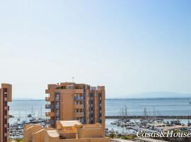 Abity Beach junto al  Puerto Tomas Maestre y  Mar Mediterráneo